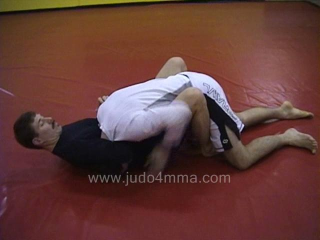 Click for a video showing a traditional Judo technique called Hadake Jime from the front - Guillotine Choke